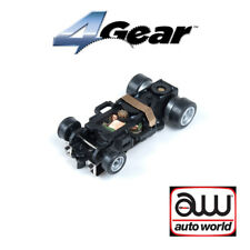 Auto World 4Gear Complete Chassis (1) Pk : 1:64 / HO Scale