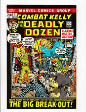 "COMBAT KELLY & THE DEADLY DOZEN #2  [1972 FN-VF]  ""THE BIG BREAK-OUT!"""