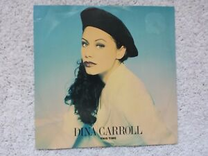 """DINA CARROLL """" THIS TIME """" 12"""" VINYL (DISC NEAR MINT condition) 1993 AMY 0184"""