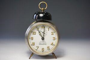 Junghans Alarm Clock Antique Um 1910 Repetition Karl Saam 1.45Z