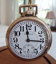 10K Gold Filled HAMILTON Railroad Watch 21 Jewels  No 992