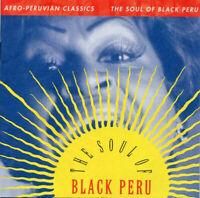 THE SOUL OF BLACK PERU ~ Afro-Peruvian Classics ~ 2000 USA 15-trk CD~DAVID BYRNE