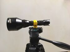 Wicked Lights tri-pod mount.. Attach to any scan light with a one inch OD.