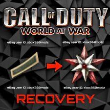 COD World At War WAW Recovery | Account Mod | Max Prestige | Unlock All - Xbox