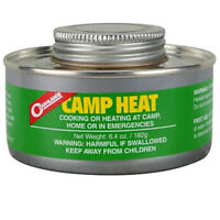 Coghlans CampHeat Or Cooking Fuel 2 Cans(Lasts 4-6hrs ech can)Camping,Hm or Emgn