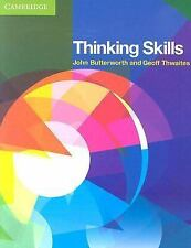 THINKING SKILLS John Butterworth Cambridge University 2010