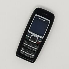 Nokia 1600 - Big Button Mobile Phone - Black - Working Condition - Unlocked