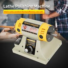 220V 350W Bench Grinder Polishing Machine For Jewelry Dental Bench Lathe Motor o