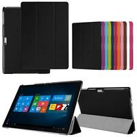 12.3 inch Tablet Folio Leather Case Stand Cover For Microsoft Surface Pro 4 Case