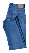 Levis 501 CT Jeans Women's Mid Blue Size W29 L34 Tapered Leg Slight Distress