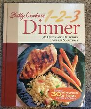 Betty Crocker's 1-2-3 Dinner : 350 Quick and Delicious Supper Solutions,2001,Hdc
