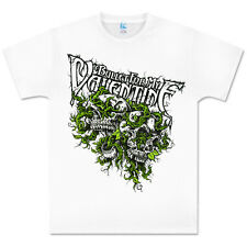 New: BULLET FOR MY VALENTINE - White Vines (Mens) XS Metal Concert T-Shirt