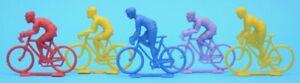 Plastic Cyclists - Tour de France - racing bicycles - Salza / Starlux?