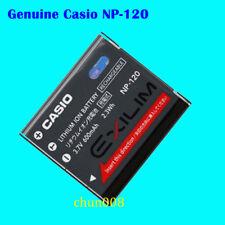 Genuine Original CASIO NP-120 Battery For Casio EX-S200 ZS10 ZS15 Z680 TZ20 ZS12
