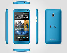 Unlocked Smartphone 4.7'' New HTC One (M7) GSM 3G 32GB Android OS NFC - Blue