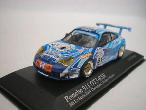 Porsche 911 GT3 Rsr #81 24hrs Le Mans 2004 1/43 minichamps 400046981 New
