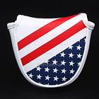 Stars& Stripes Golf Mallet Putter Head Cover for Odyssey Scotty Cameron Magnetic