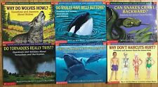 Lot 6 Scholastic Question Answer Books Melvin Guilda Berger Science Picture
