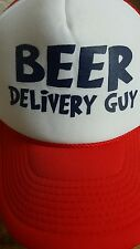 Beer Delivery Guy Funny Hat Cap
