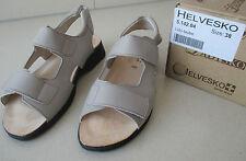1e419fdd829ecd Sandalette von Helvesko Gr. 38 Gesundheits-Fußbett Farbe beige taube NEU TOP