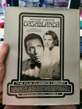 casablanca the film classics library rare first edition hardback dust jacket
