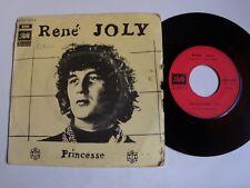 """RENE JOLY : Princesse 7"""" 45T PATHE 2C 006-15.629 dir orch & arrgts GERARD MANSET"""