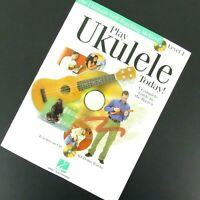Play Ukulele Today Level 1 Paperback Music Book Complete Basic Guide Hal Leonard