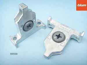 Blum Tandem Box Drawer Front Fixing Brackets.  ZSF.35A2 (pair) replaces ZSF.3502