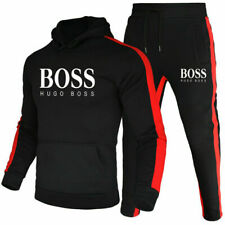 Herren 2Pic Jogging Anzug Sweatshirt Hosen Trainingsanzug Sportanzug -z