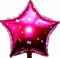Helium Foil Balloon Disney Minnie Star Pink Mickey Mouse Birthday Pink Party