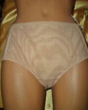 Hübsches Nylon Höschen Wonderbra Gr. 38 beige/braun Nylonslip Panty Slip  (B343)