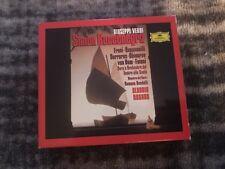 Verdi: Simon Boccanegra 2CDs Cappuccilli, Freni, Carreras, Ghiaurov; Abbado