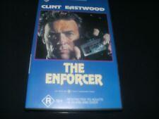 THE ENFORCER CLINT EASTWOOD  VIDEO VHS PAL