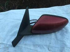 VOLVO S80 MAROON PASSENGER NEAR SIDE WING MIRROR LEFT POWER FOLD MEMORY