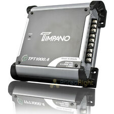 Timpano Digital Amplificador de gama completa 4 X 250 vatios Rms 2 Ohm Car Audio TPT1000.4