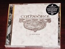 Cathedral: In Memoriam CD + DVD 2 Disc Set 2015 Rise Above Records RISECD193 NEW