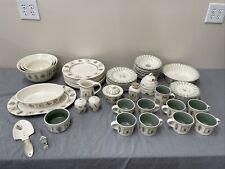 PFALTZGRAFF PORTFOLIO NATUREWOOD 56 piece set: EUC cups/saucers, honey pot etc.