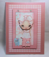 """Handmade""~CUTE 3D BIRTHDAY CARD~BY D~#434"