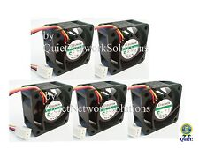 Quiet Dell PowerConnect 3448P Fan Kit (C5537), 5x Fans Best for Home Networking!