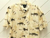 Bass Fishing_NORTH RIVER Shirt_Sz.L_Black Bass, Smallmouth & Spotted Bass, Lures