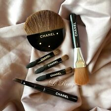 Chanel mini travel brush set eyeshadow sponge foundation blush contour eyeliner