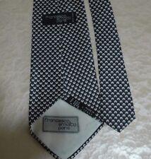 AUTHENTIQUE cravate FRANCESCO SMALTO 100% soie NEUVE