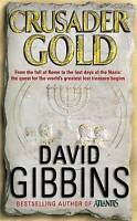 Crusader Gold, By David Gibbins,in Used but Acceptable condition