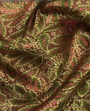 Light Weight Brocade blossom oriental asian  Multicolour Fabric