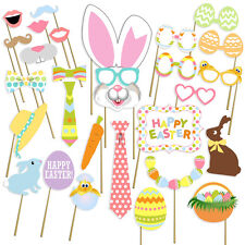 Easter Photo Booth Props, Easter Party Decorations, Attached, Ready 2b Used, USA