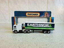 Matchbox Plastic Diecast Tractor Trailers/Semis