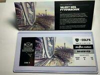 LAS VEGAS RAIDERS vs Indianapolis COLTS Official NFL Ticket Stub 12/13/2020