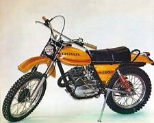 1975 Ossa 250cc Super Pioneer Motorcycle Factory Photo c3052-C4VCFH