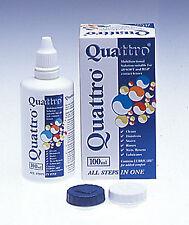 Abatron Quattro 100ml Multi-purpose solution Travel Flight for hard soft lenses