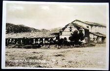 JOLON CA ~ 1930's MISSION SAN ANTONIO DE PADUA BUILT 1771 ~  Real Photo PC  RPPC